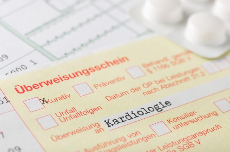 Überweisungsschein Kardiologie